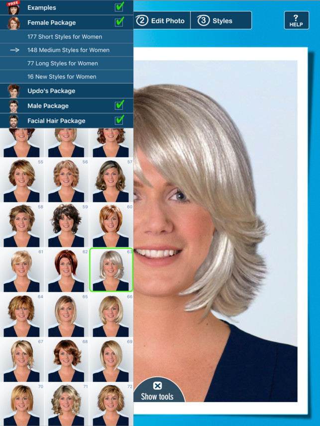Which Hairstyle Suits Me Male App  Hairstyle PRO Try Hair Styles Men and Women su App Store