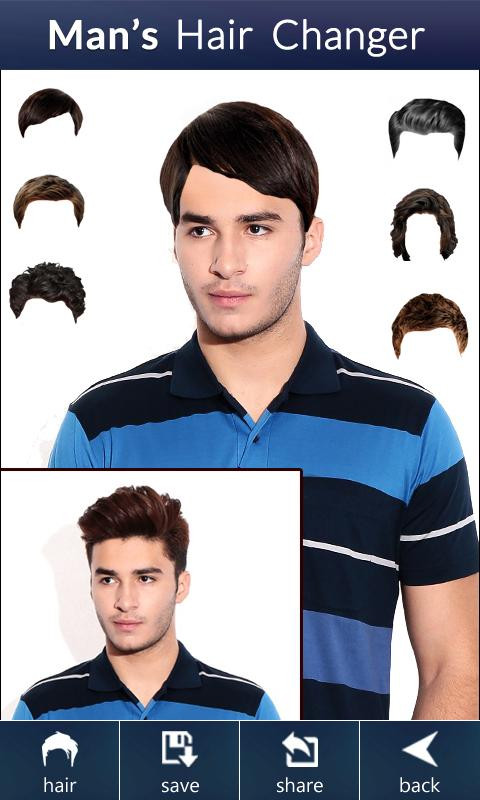 Which Hairstyle Suits Me Male App  Men Hairstyles App