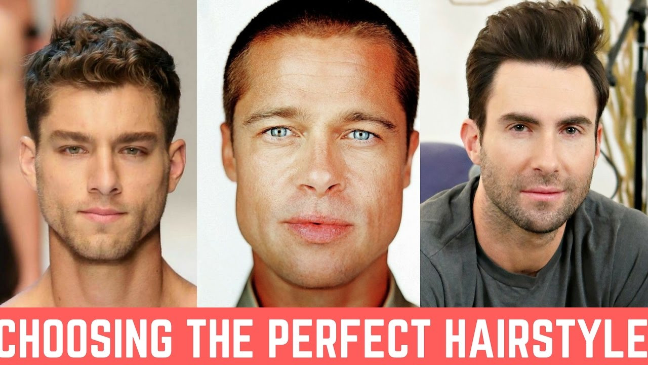 Which Hairstyle Suits Me Male App  Getting the PERFECT Men's Haircut That Suits your Face