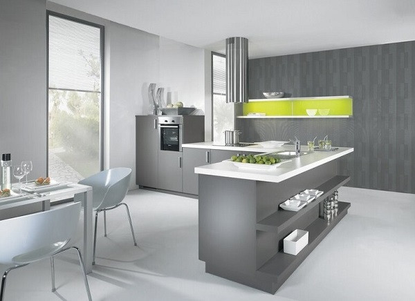 Best ideas about White And Grey Kitchen Ideas . Save or Pin Best Grey Kitchen Designs Ideas Cabinets s Now.