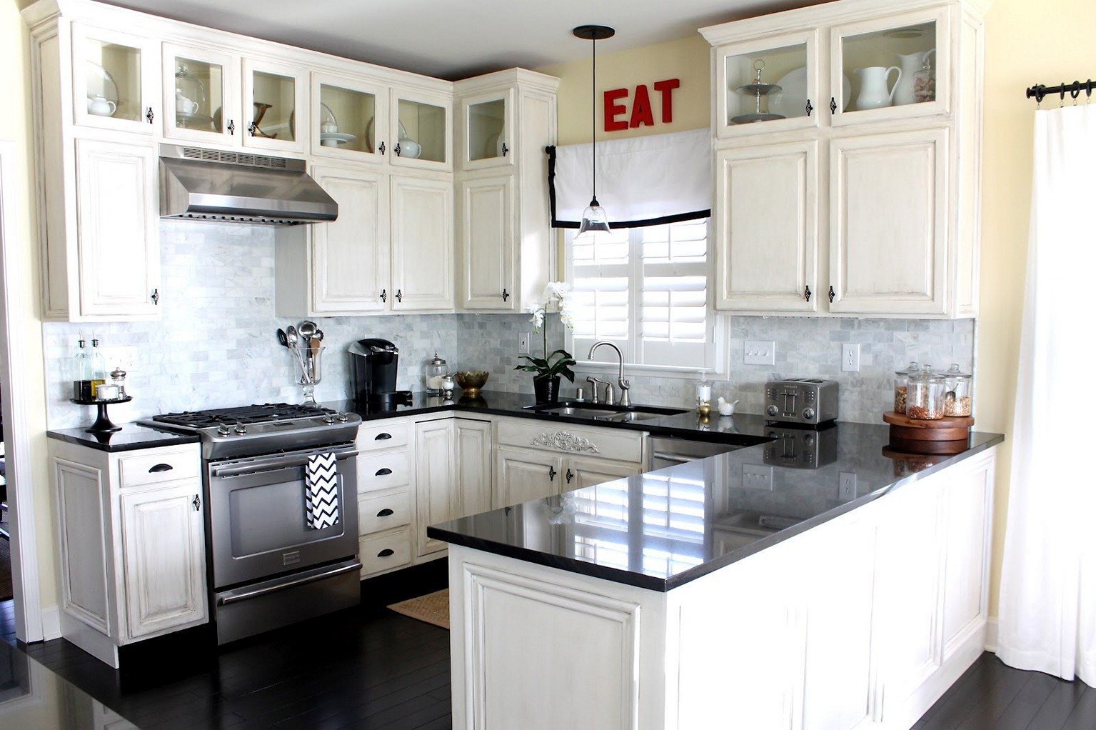 Best ideas about White And Grey Kitchen Ideas . Save or Pin Design Your Own Gray and White Kitchen HomeStyleDiary Now.