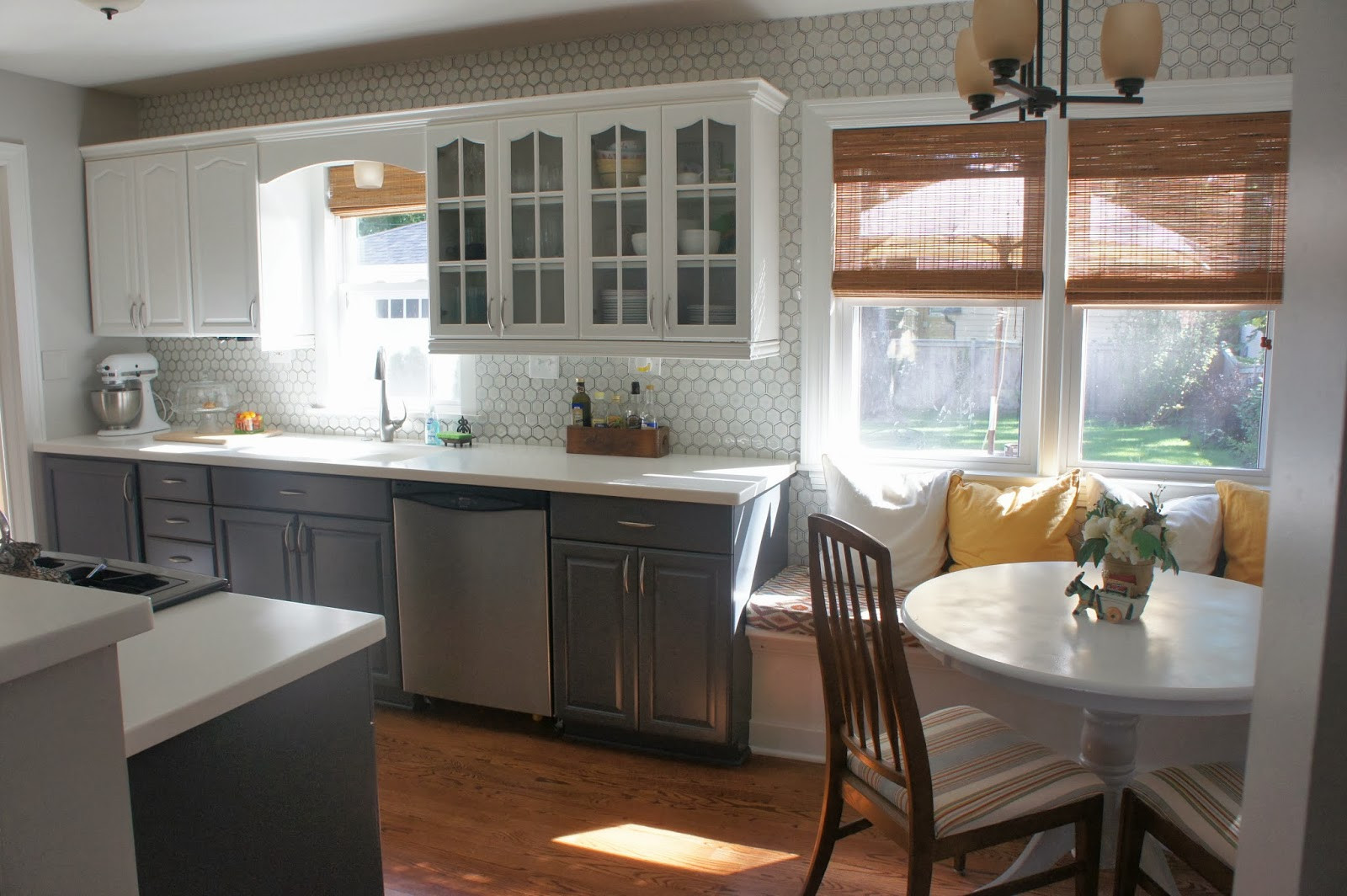 Best ideas about White And Grey Kitchen Ideas . Save or Pin 15 Inspiring Grey Kitchen Cabinet Design Ideas Now.