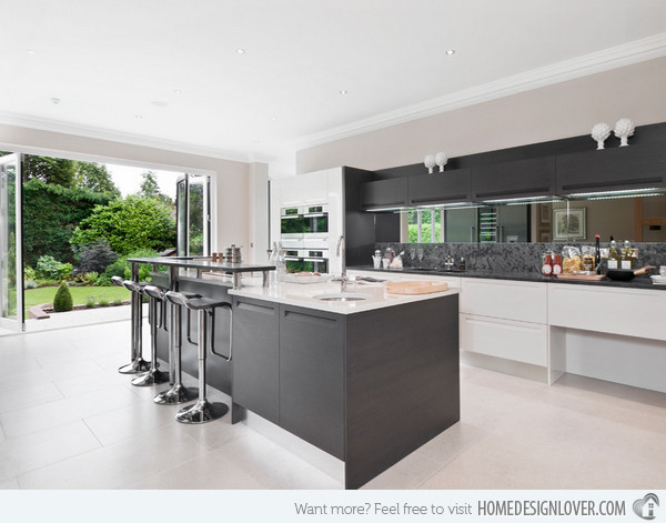 Best ideas about White And Grey Kitchen Ideas . Save or Pin 20 Astounding Grey Kitchen Designs Decoration for House Now.