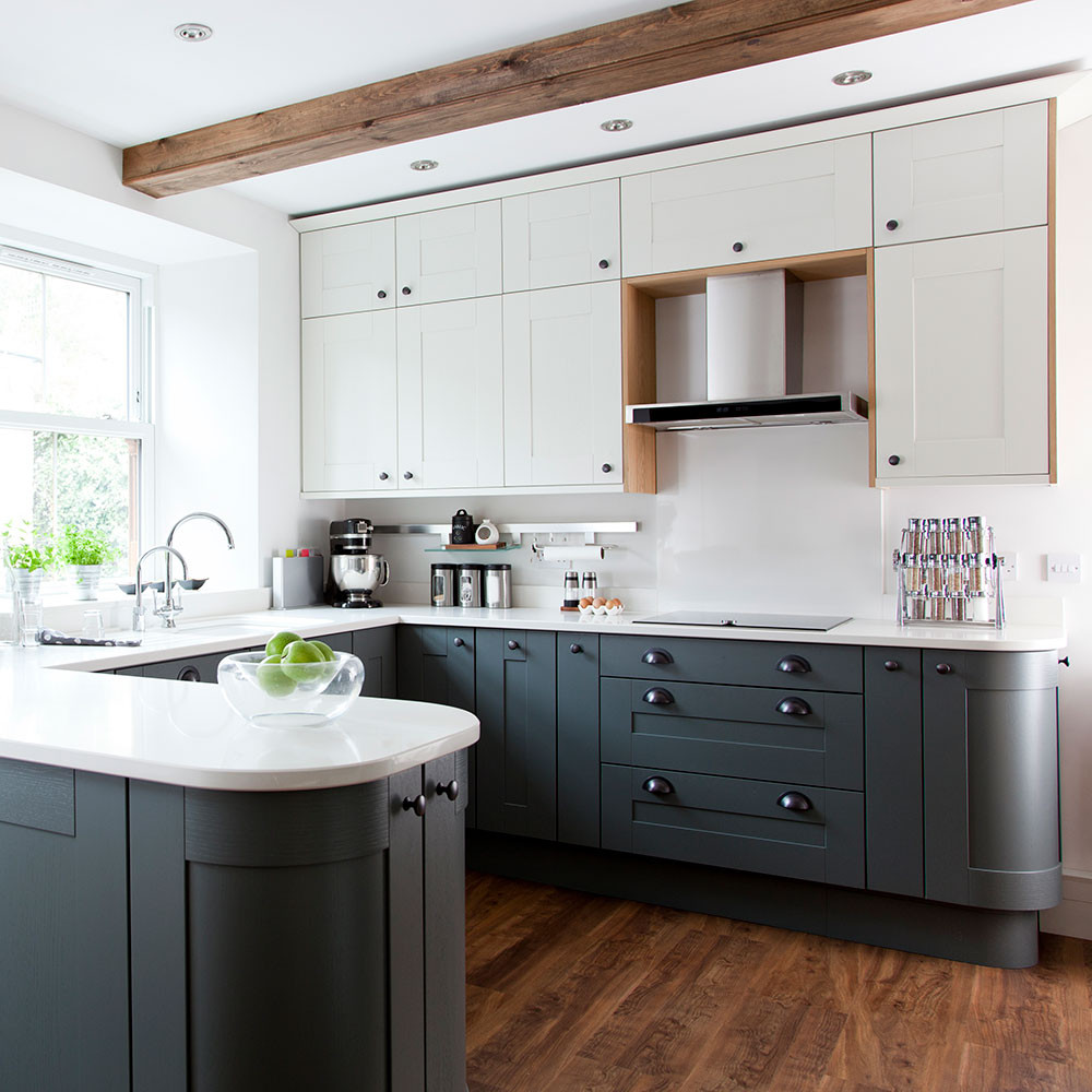 Best ideas about White And Grey Kitchen Ideas . Save or Pin Grey kitchen ideas – 16 ideas for grey kitchens that are Now.
