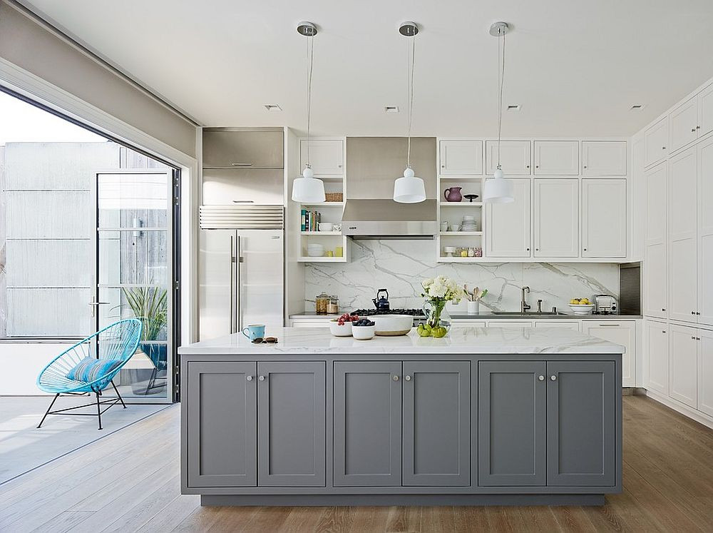Best ideas about White And Grey Kitchen Ideas . Save or Pin Classic and Trendy 45 Gray and White Kitchen Ideas Now.