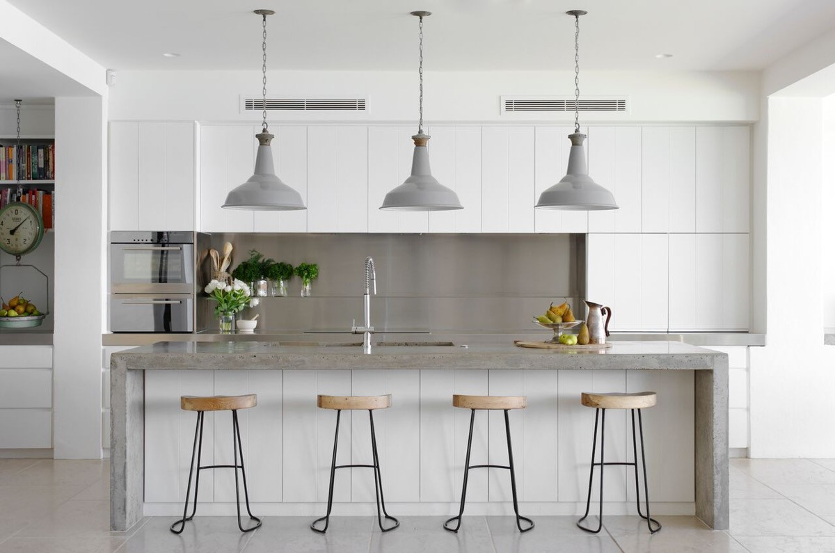 Best ideas about White And Grey Kitchen Ideas . Save or Pin 30 Gorgeous Grey and White Kitchens that Get Their Mix Right Now.
