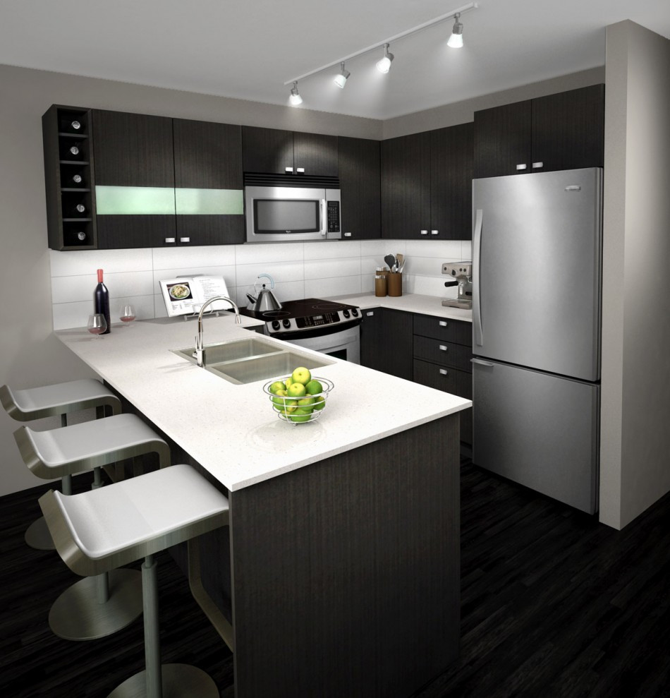 Best ideas about White And Grey Kitchen Ideas . Save or Pin Lavish White and Grey Kitchen for an Elegant Finish Now.