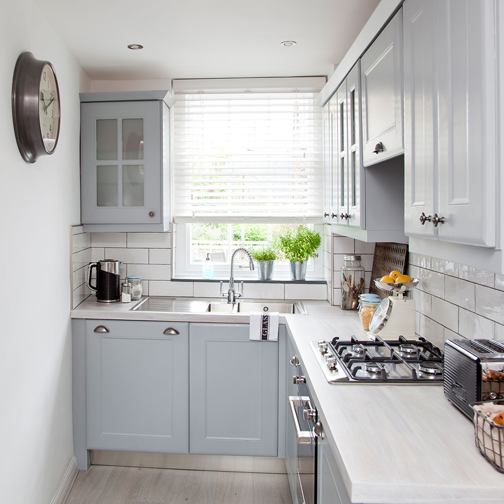 Best ideas about White And Grey Kitchen Ideas . Save or Pin Grey kitchen ideas that are sophisticated and stylish Now.