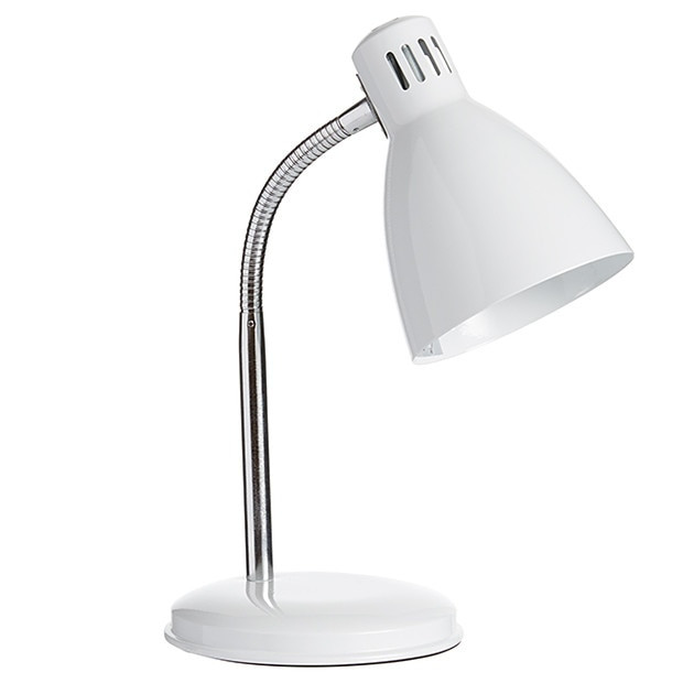 Best ideas about White Desk Lamp . Save or Pin Collins Metal Desk Lamp White Now.