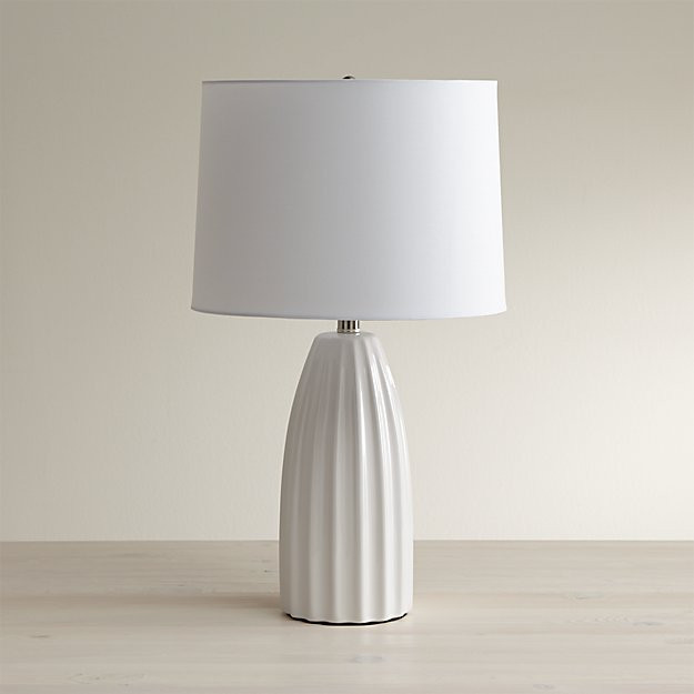 Best ideas about White Desk Lamp . Save or Pin Ella White Ceramic Table Lamp Reviews Now.