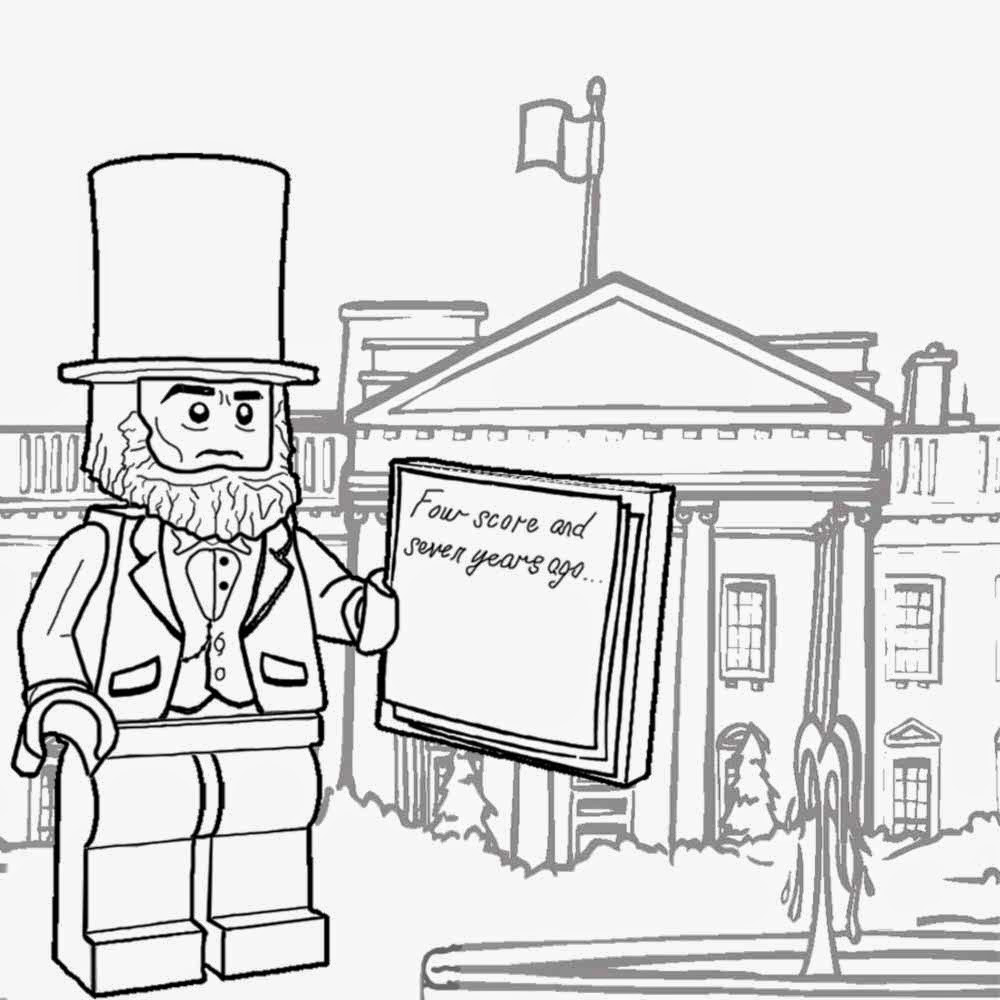 White House Coloring Sheets For Kids  Coloring Pages The White House AZ Coloring Pages