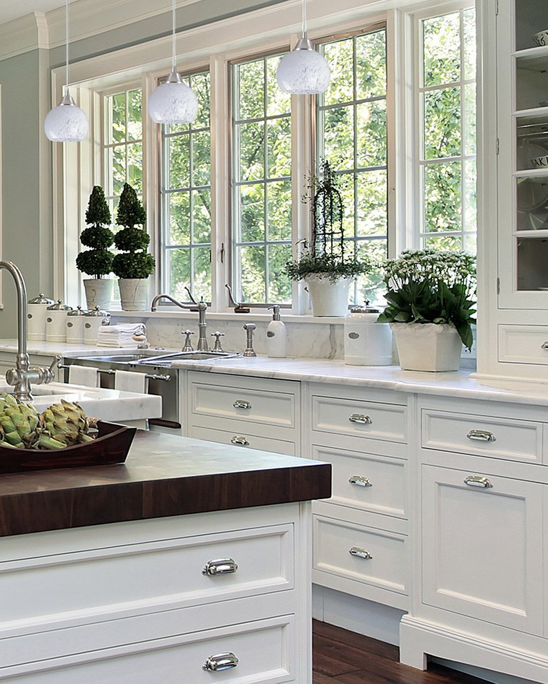 Best ideas about White Kitchen Decor . Save or Pin 21 Beautiful All White Kitchen Design Ideas Now.