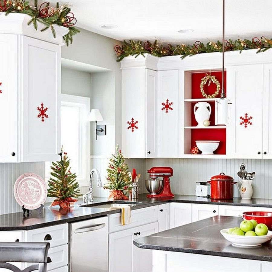 Best ideas about White Kitchen Decor . Save or Pin 23 Ways To Decorate Your Kitchen For The Holidays Now.