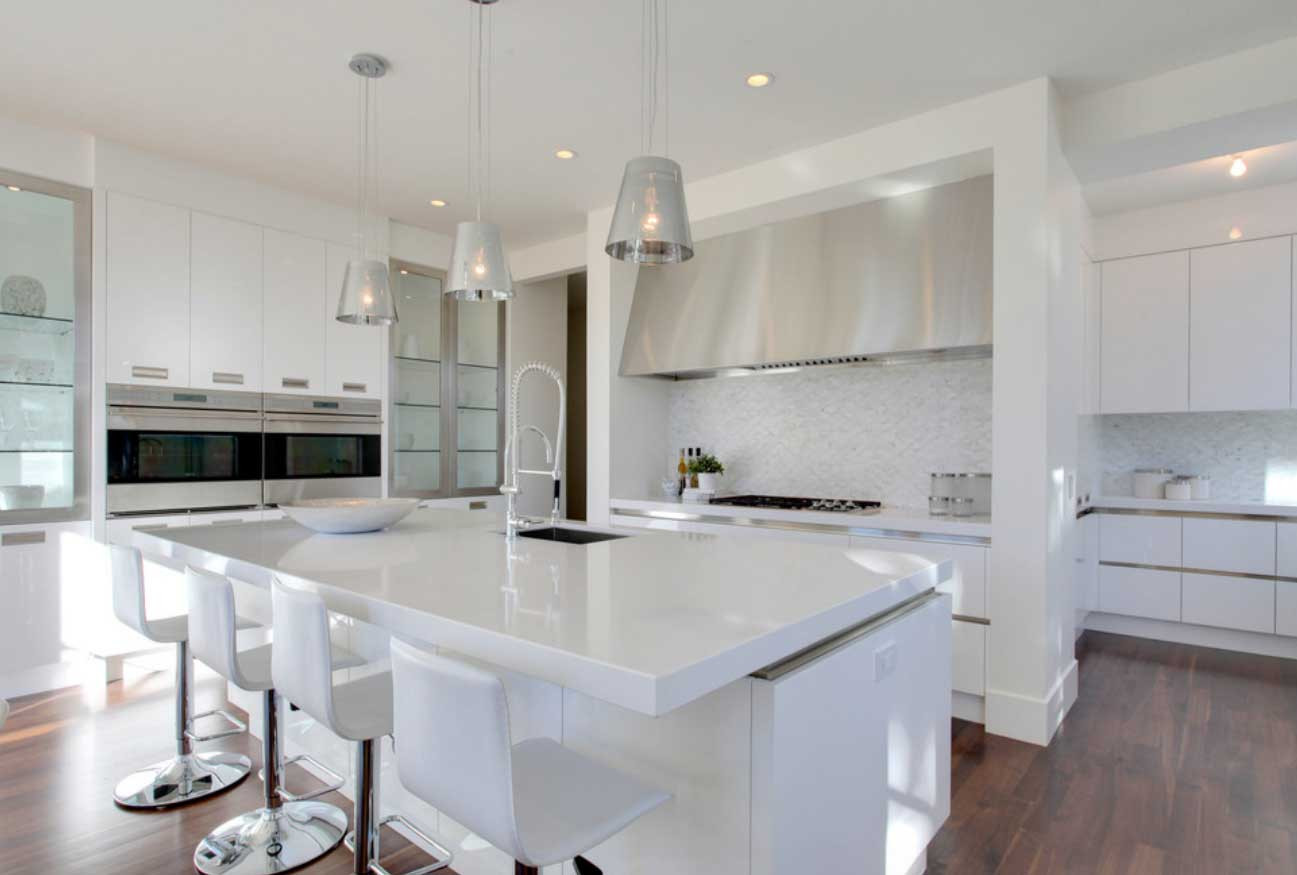 Best ideas about White Kitchen Decor . Save or Pin Simply Inspiring 10 Wonderful Kitchen Design Lines That Now.