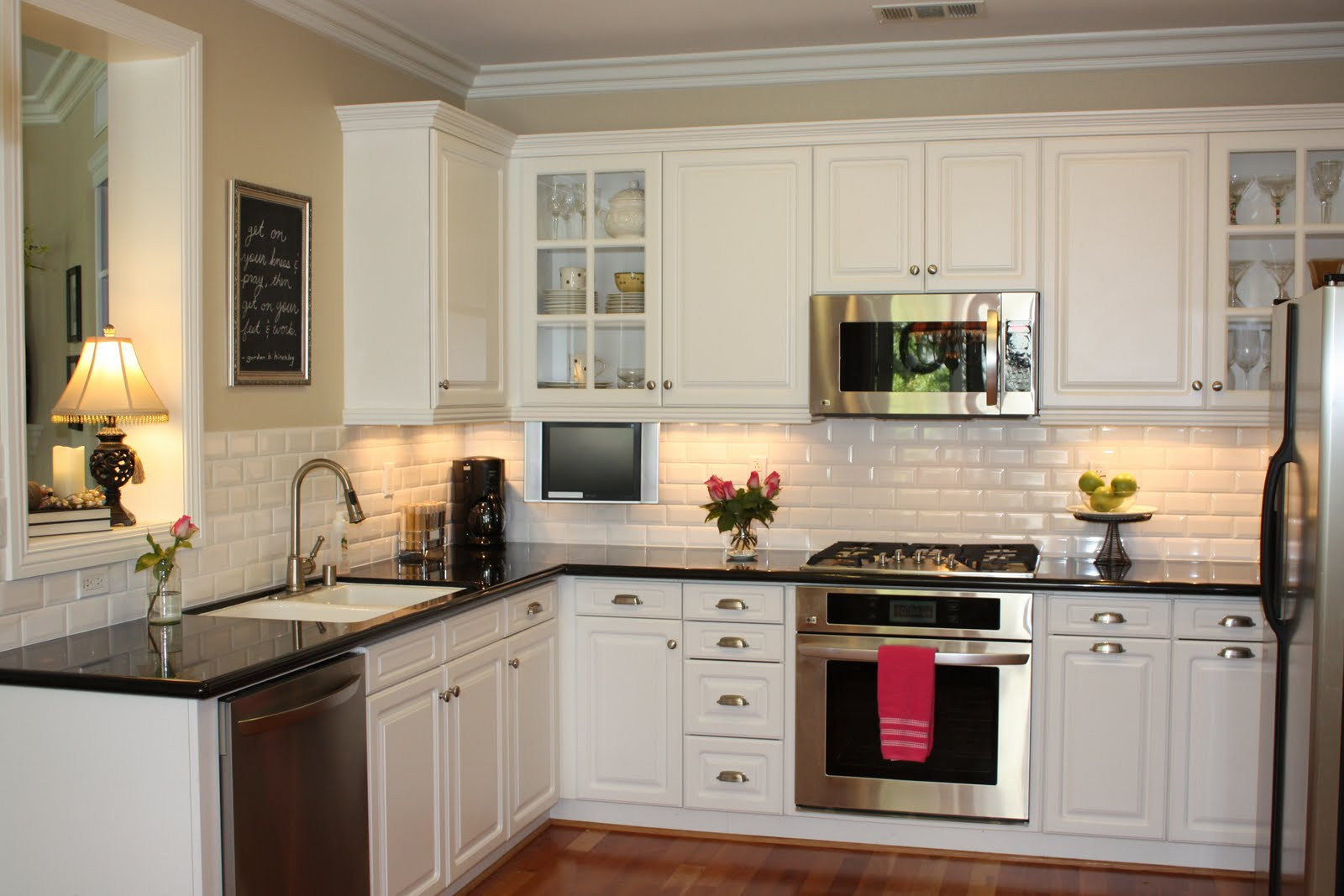 Best ideas about White Kitchen Decor . Save or Pin Top 5 Ideas of Wall Decor for Kitchen MidCityEast Now.
