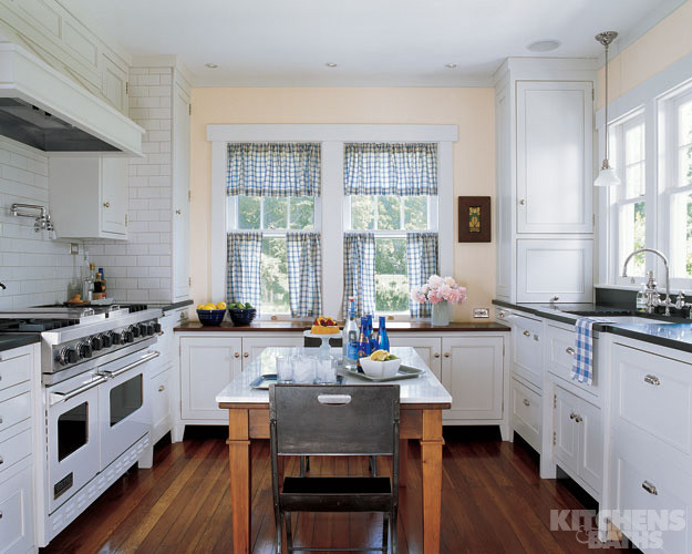 Best ideas about White Kitchen Decor . Save or Pin All White DREAM Kitchen Elle Decor Made By Girl Now.