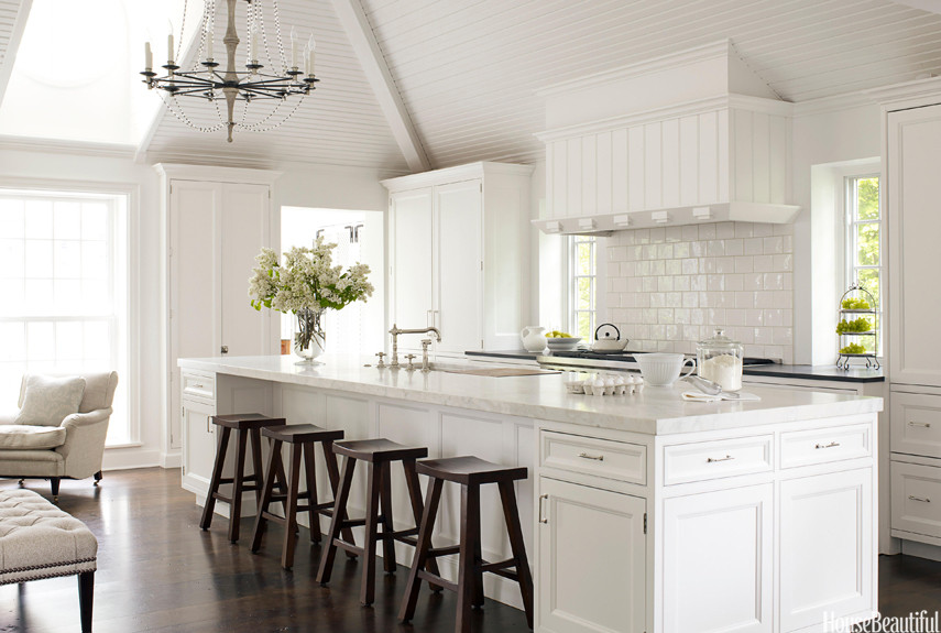 Best ideas about White Kitchen Decor . Save or Pin White Kitchen Decorating Ideas Mick de Giulio Kitchen Design Now.