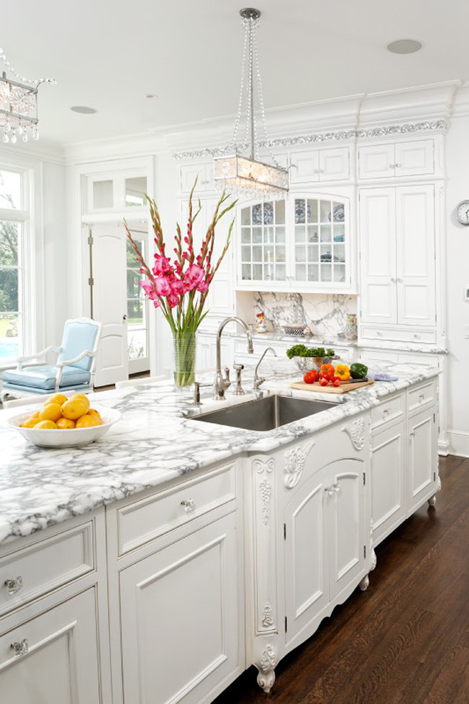 Best ideas about White Kitchen Decor . Save or Pin Dream Kitchen – Cook Up a Storm In these 7 Glamorous Now.