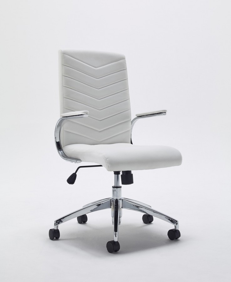 Best ideas about White Office Chair . Save or Pin Baresi White fice Chair Now.