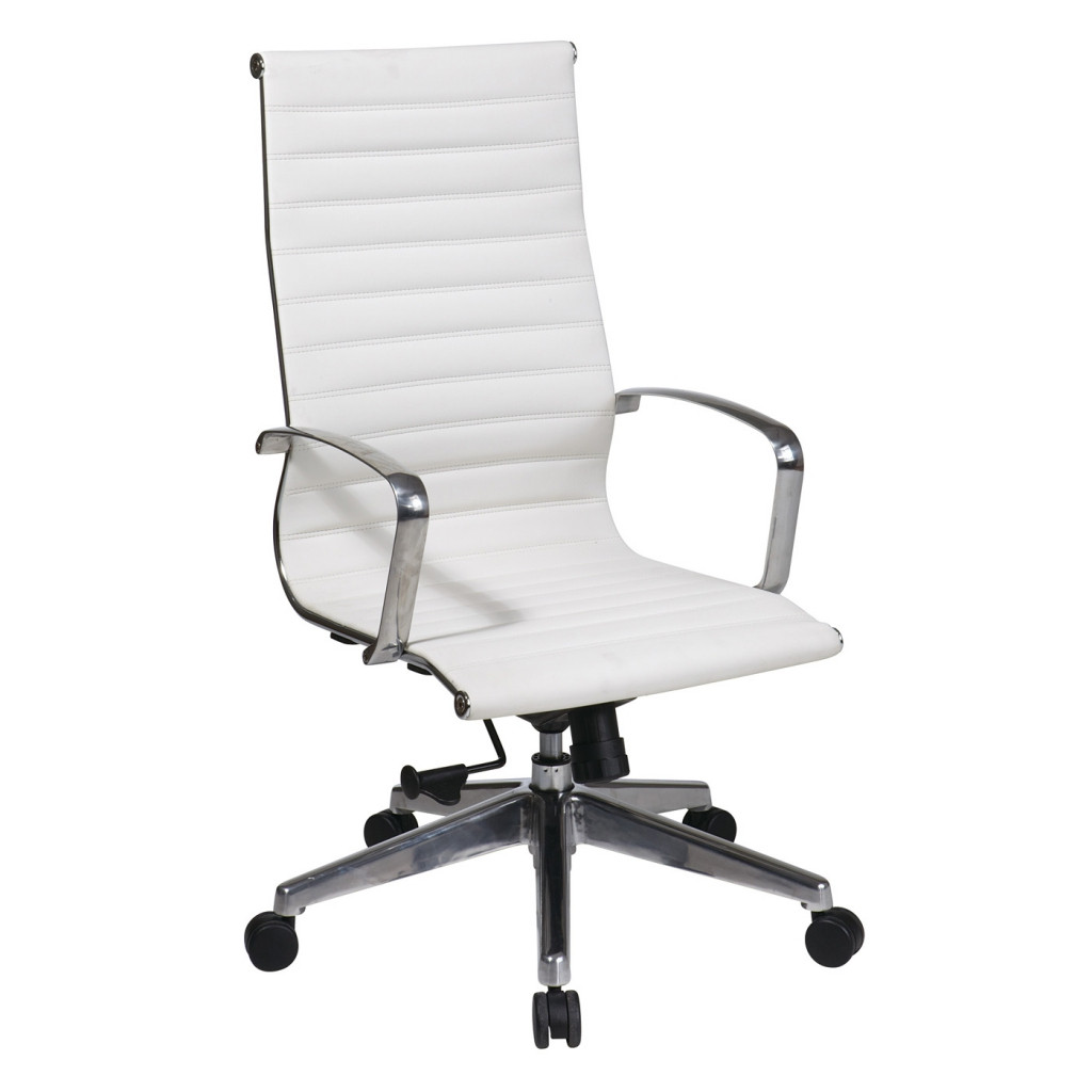 Best ideas about White Office Chair . Save or Pin Funiture White fice Furniture Ideas Using White Mesh Now.