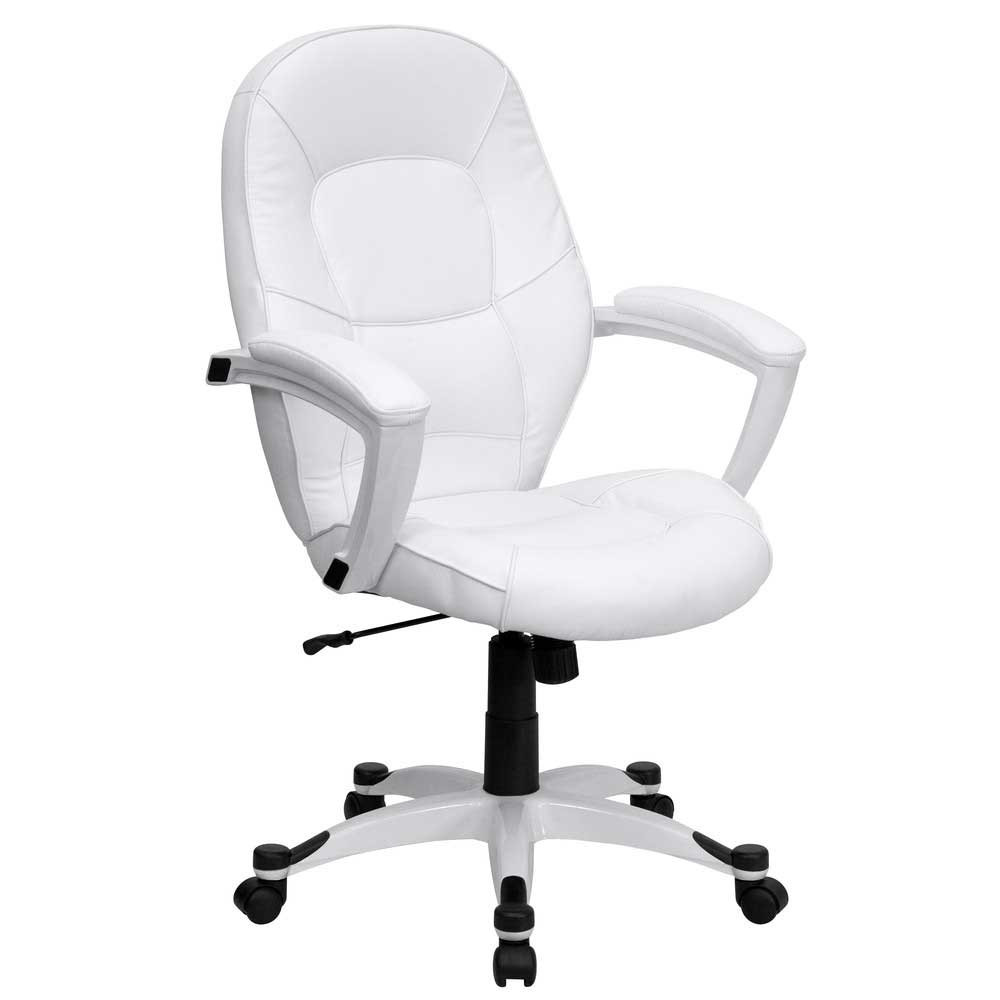 Best ideas about White Office Chair . Save or Pin White fice Chair Design and Style Now.