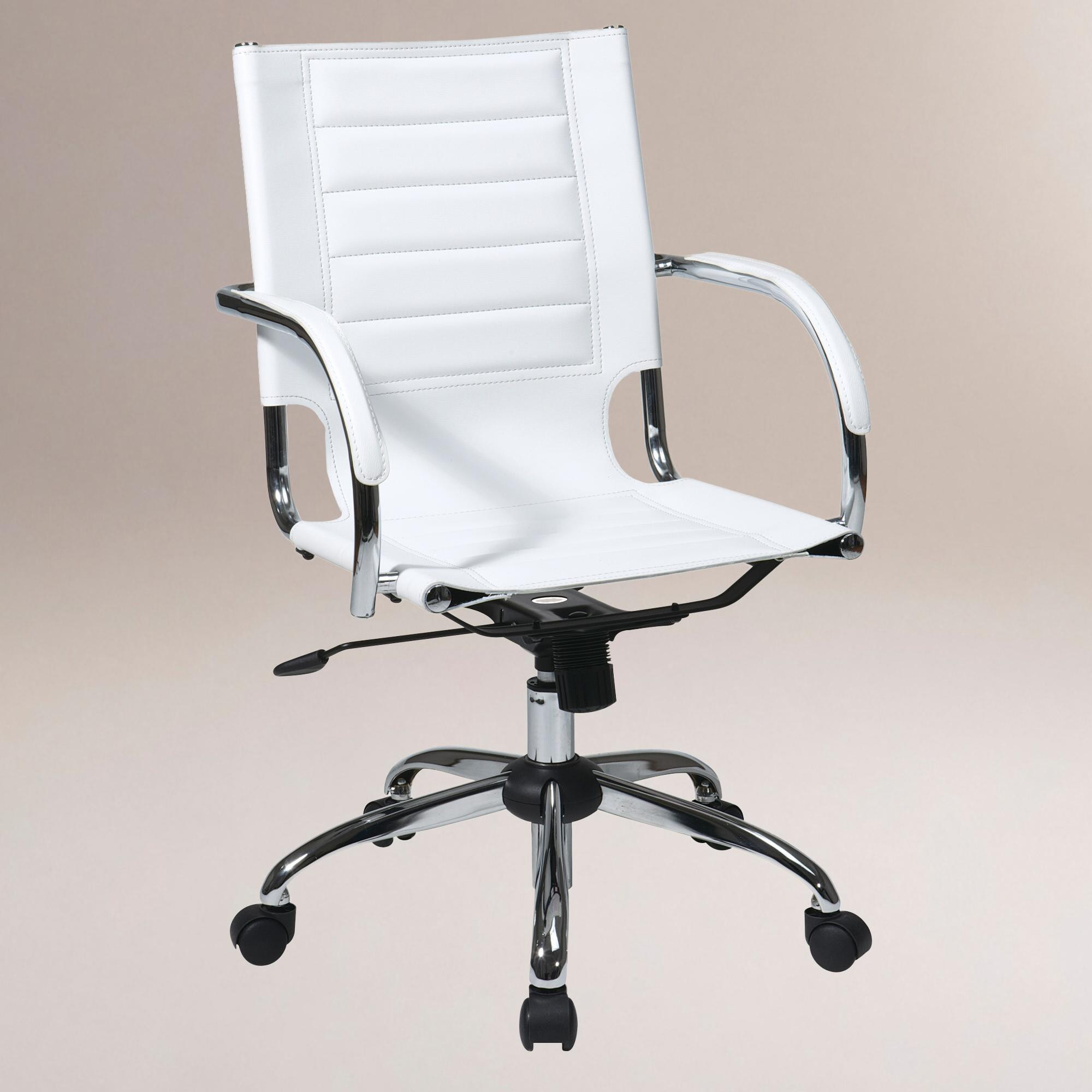 Best ideas about White Office Chair . Save or Pin White Grant fice Chair Now.