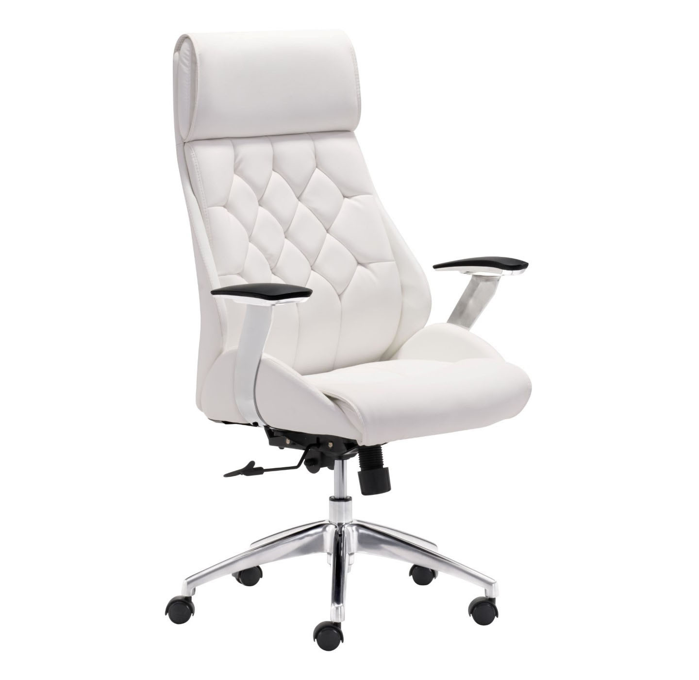 Best ideas about White Office Chair . Save or Pin Zuo Modern Boutique fice Chair White Now.