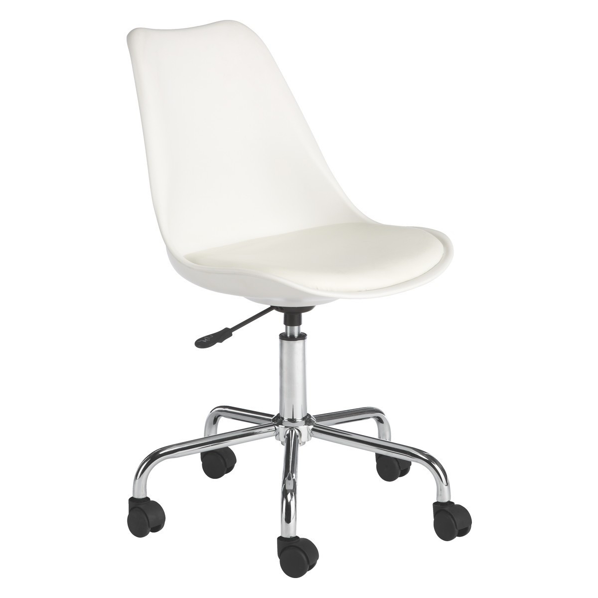 Best ideas about White Office Chair . Save or Pin White office chairs white tufted chair office white Now.