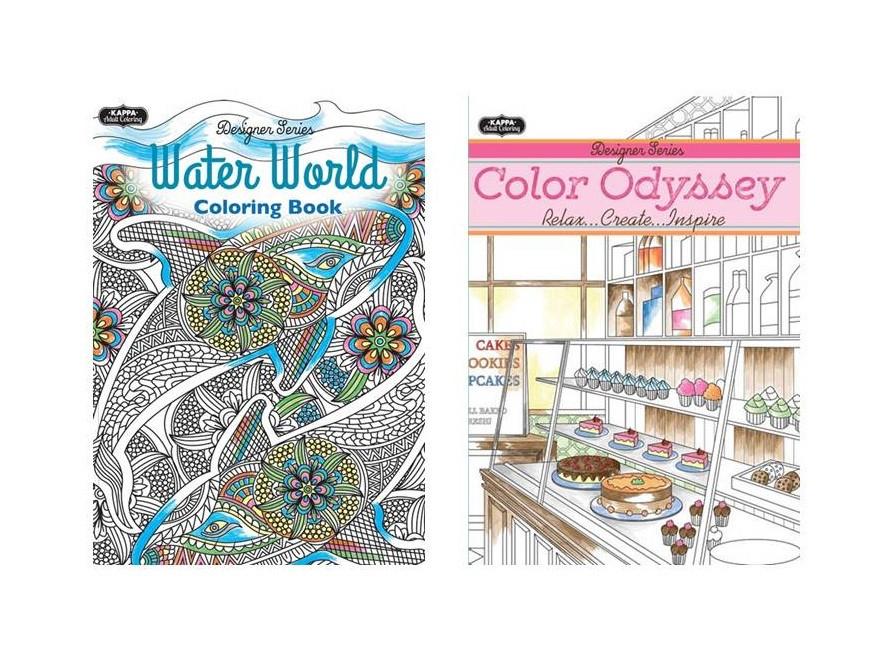Wholesale Adult Coloring Books  Adult Coloring Books Wholesale Assortment 3 Mazer