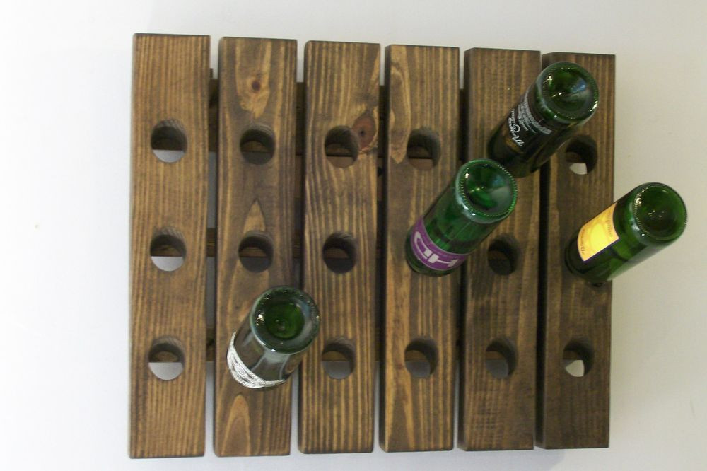 Best ideas about Wine Rack Wall Decor . Save or Pin Wine Riddling Rack Wall Hanging Wine Rack Handmade Now.