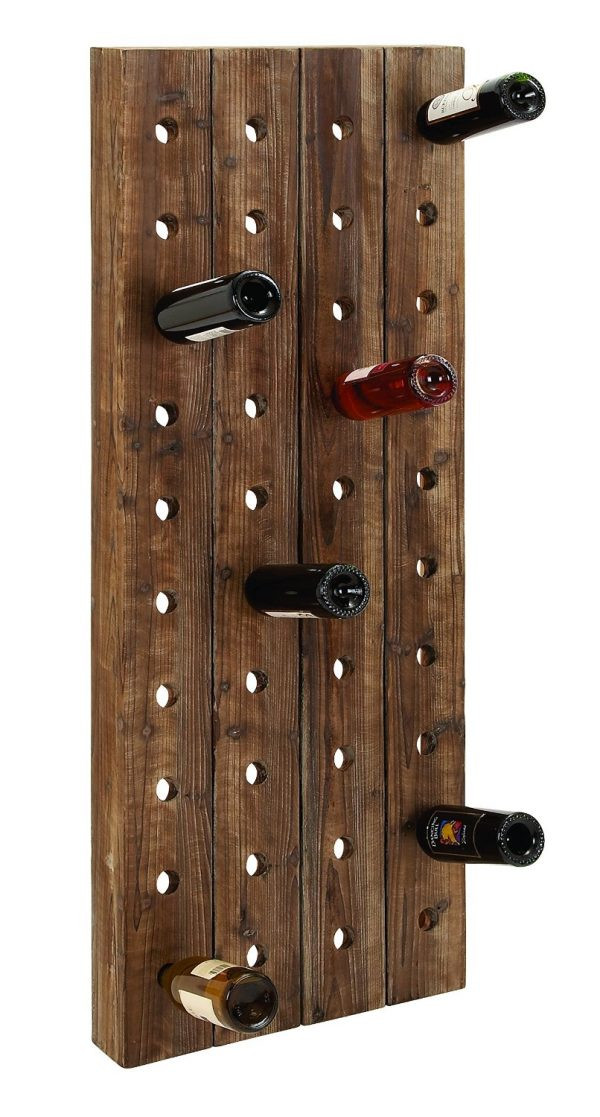 Best ideas about Wine Rack Wall Decor . Save or Pin 50 Wooden Wall Decor Art Finds To Help You Add Rustic Now.