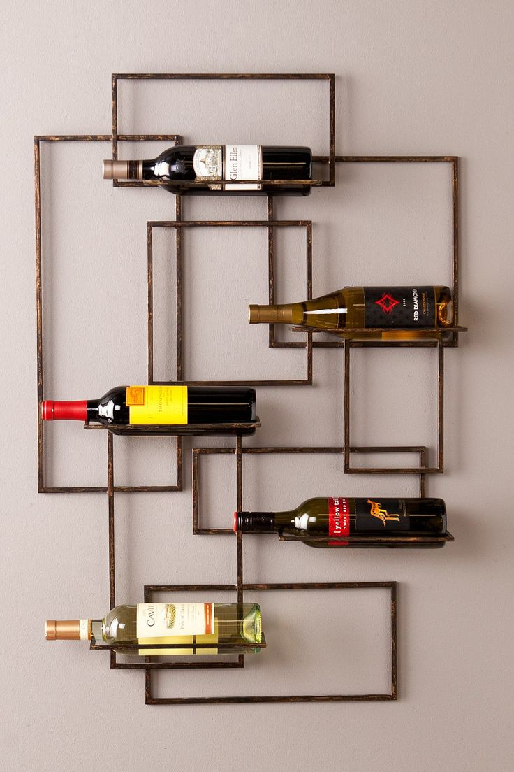 Best ideas about Wine Rack Wall Decor . Save or Pin 17 Best ideas about Wine Wall Decor on Pinterest Now.