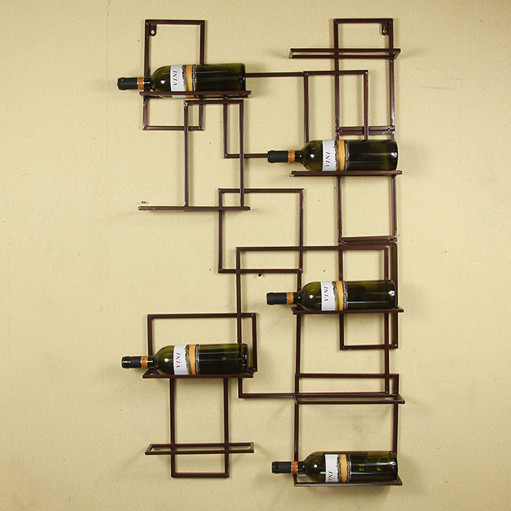 Best ideas about Wine Rack Wall Decor . Save or Pin Iron Wall Mounted Wine Rack Bottle Holder Wine Rack Holder Now.