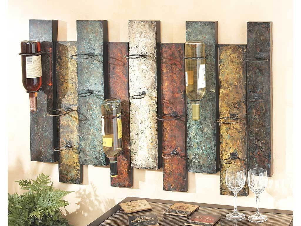 Best ideas about Wine Rack Wall Decor . Save or Pin Rustic Wine Rack for Wall Wooden Rustic Wine Rack with Now.