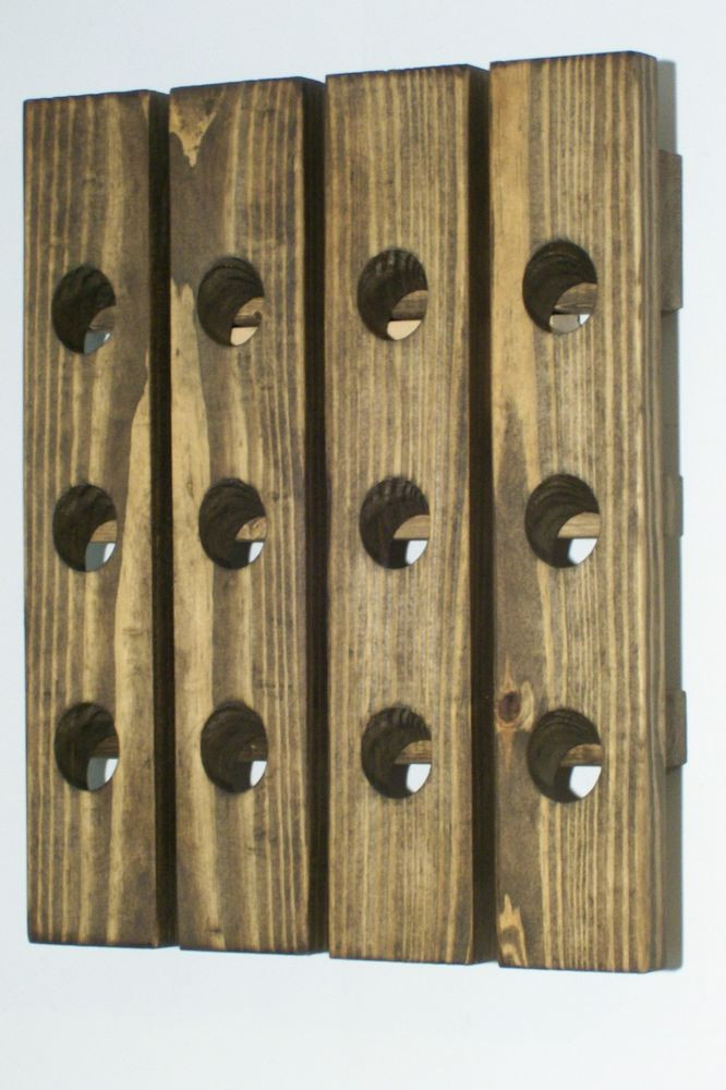 Best ideas about Wine Rack Wall Decor . Save or Pin Wood Wine Riddling Rack Handmade Wood Wall Hanging Wine Now.