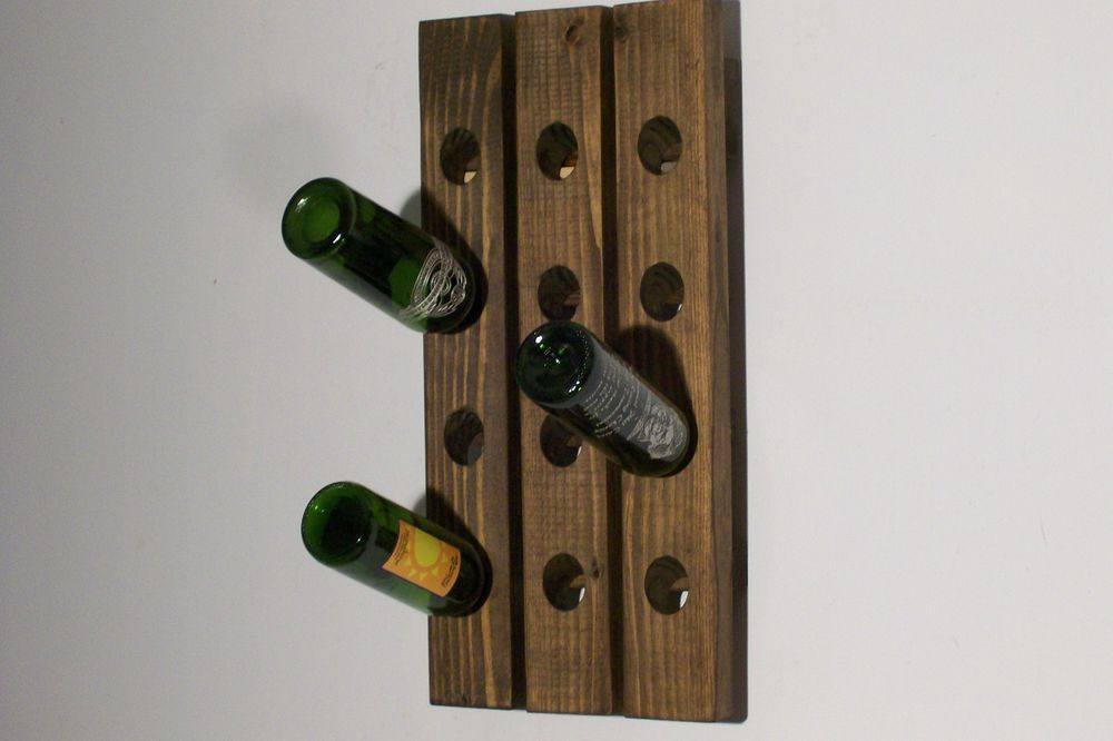 Best ideas about Wine Rack Wall Decor . Save or Pin Wall Wine Rack Riddling Rack Handmade Wall Hanging Now.