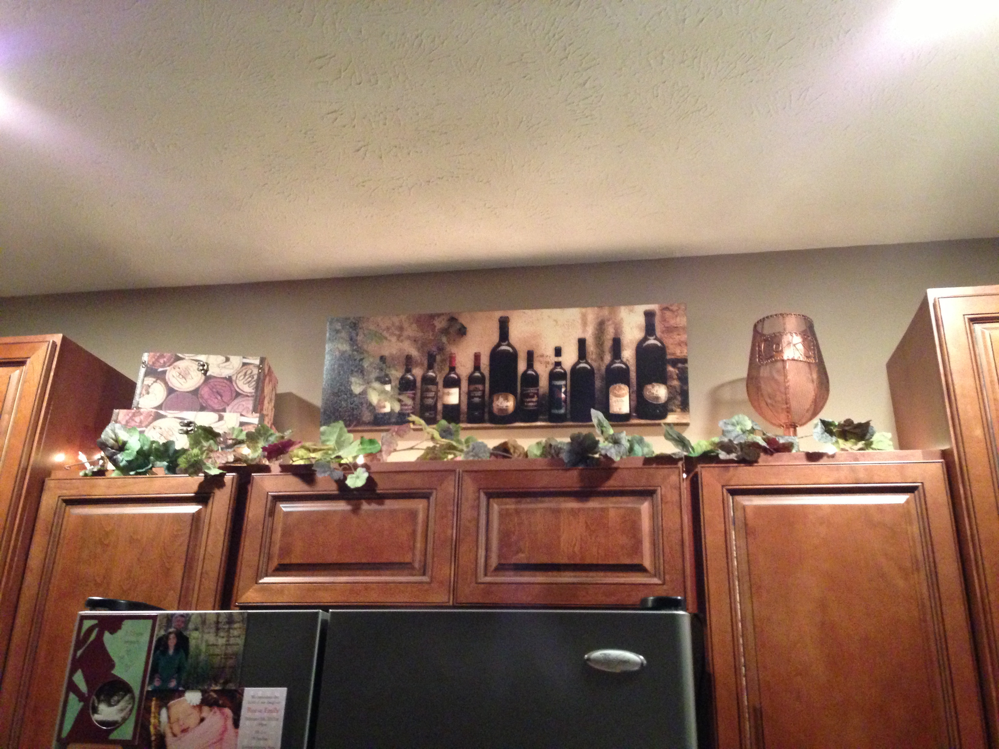Best ideas about Wine Themed Kitchen Ideas . Save or Pin Parisian Wine Kitchen Décor with Nice Lighting and Writing Now.