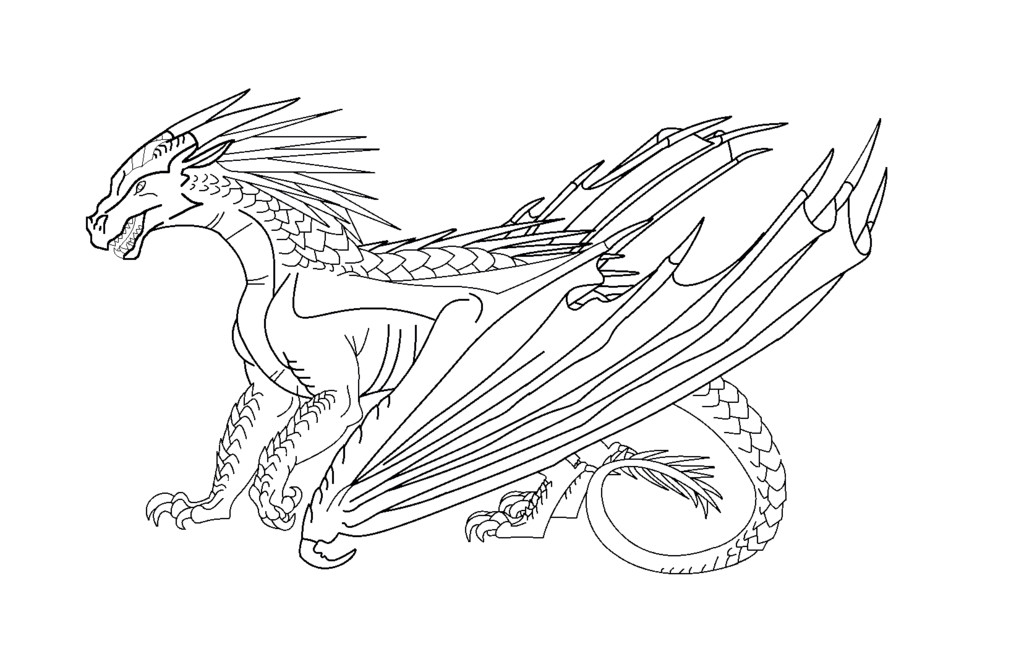 Wings Of Fire Coloring Pages  Wings of Fire by WindyMoonStorm on DeviantArt