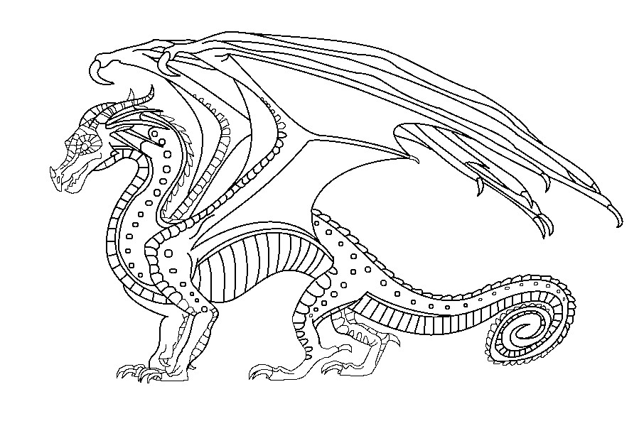 Wings Of Fire Coloring Pages  Wings of Fire Jade Mountain Academy