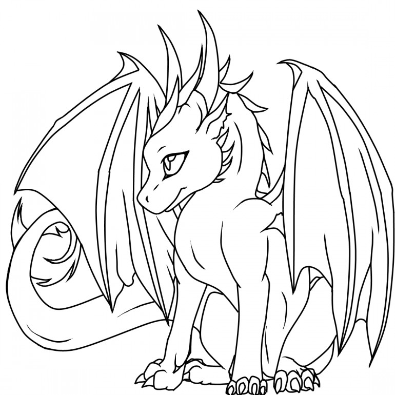 Wings Of Fire Coloring Pages  Free Coloring Pages Wings Fire Dragons 4895