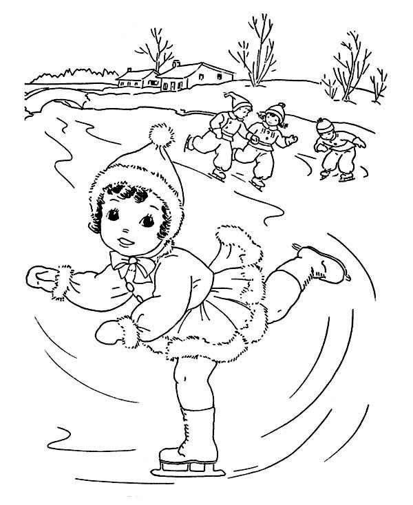 Winter Adult Coloring Pages  Winter Coloring Pages