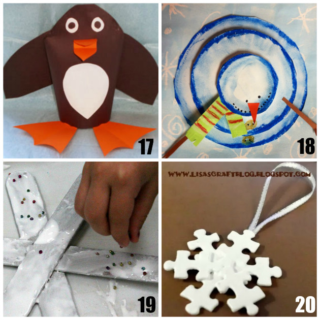 Best ideas about Winter Art Projects For Preschoolers . Save or Pin 20 Fun Preschool Winter Crafts Now.