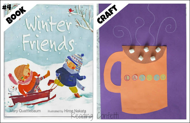 Best ideas about Winter Art Projects For Preschoolers . Save or Pin 25 Winter Books and Crafts for Kids Reading Confetti Now.