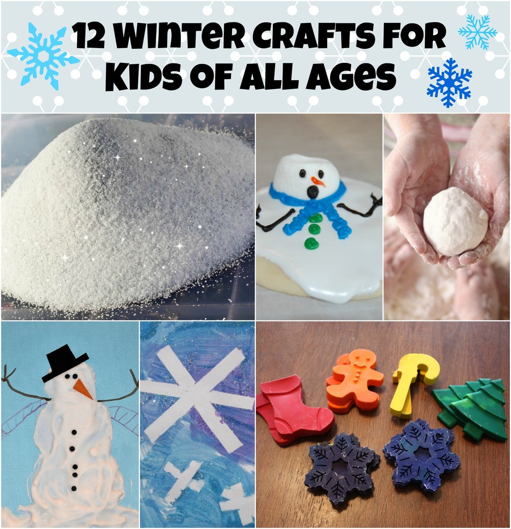 Best ideas about Winter Craft For Kids . Save or Pin 12 Winter Crafts For Kids of All Ages Now.