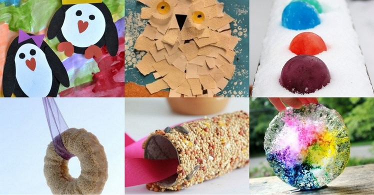 """Best ideas about Winter Craft For Kids . Save or Pin """"SNOW"""" Many SIMPLE Winter Crafts for Kids to Make Now."""