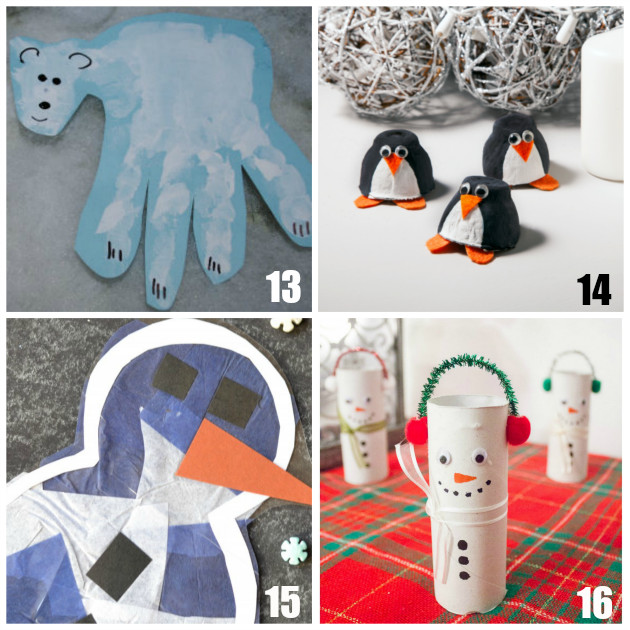 Best ideas about Winter Craft Ideas For Preschoolers . Save or Pin 20 Fun Preschool Winter Crafts Now.
