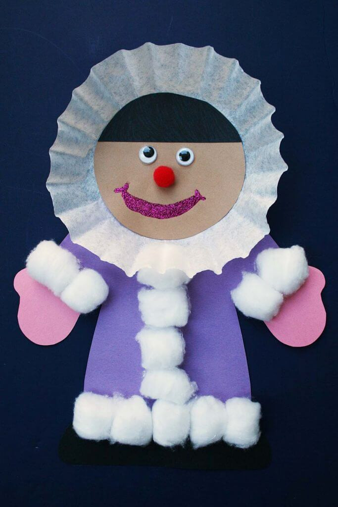 Best ideas about Winter Craft Ideas For Preschoolers . Save or Pin Easy Winter Kids Crafts That Anyone Can Make Happiness Now.