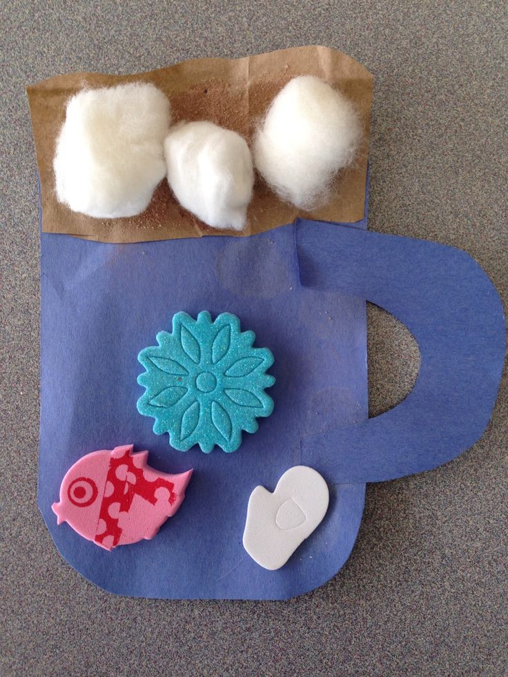 Best ideas about Winter Craft Ideas For Preschoolers . Save or Pin Craft for preschoolers winter theme mug of hot chocolate Now.