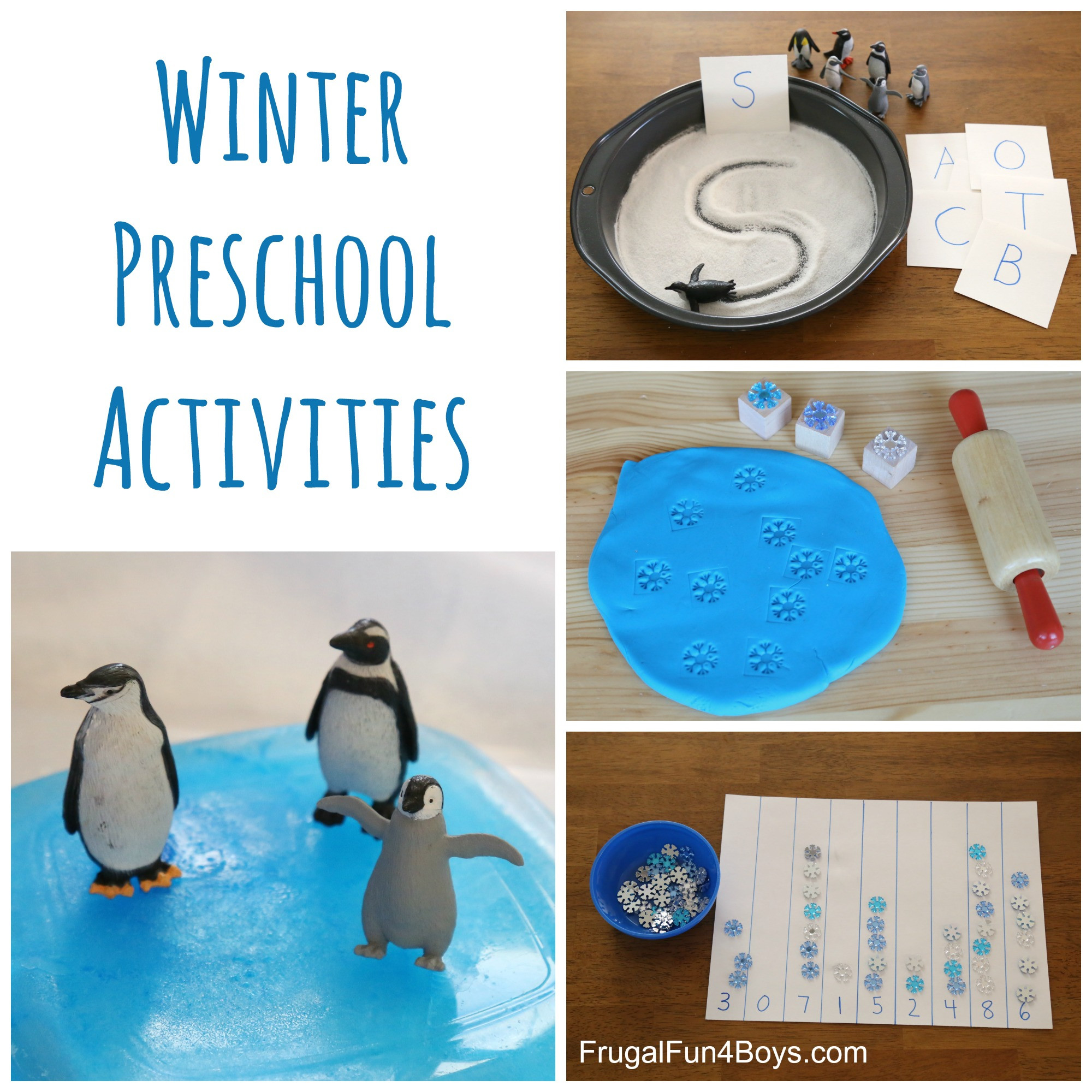 Best ideas about Winter Craft Ideas For Preschoolers . Save or Pin Winter Learning Activities for Preschool Frugal Fun For Now.