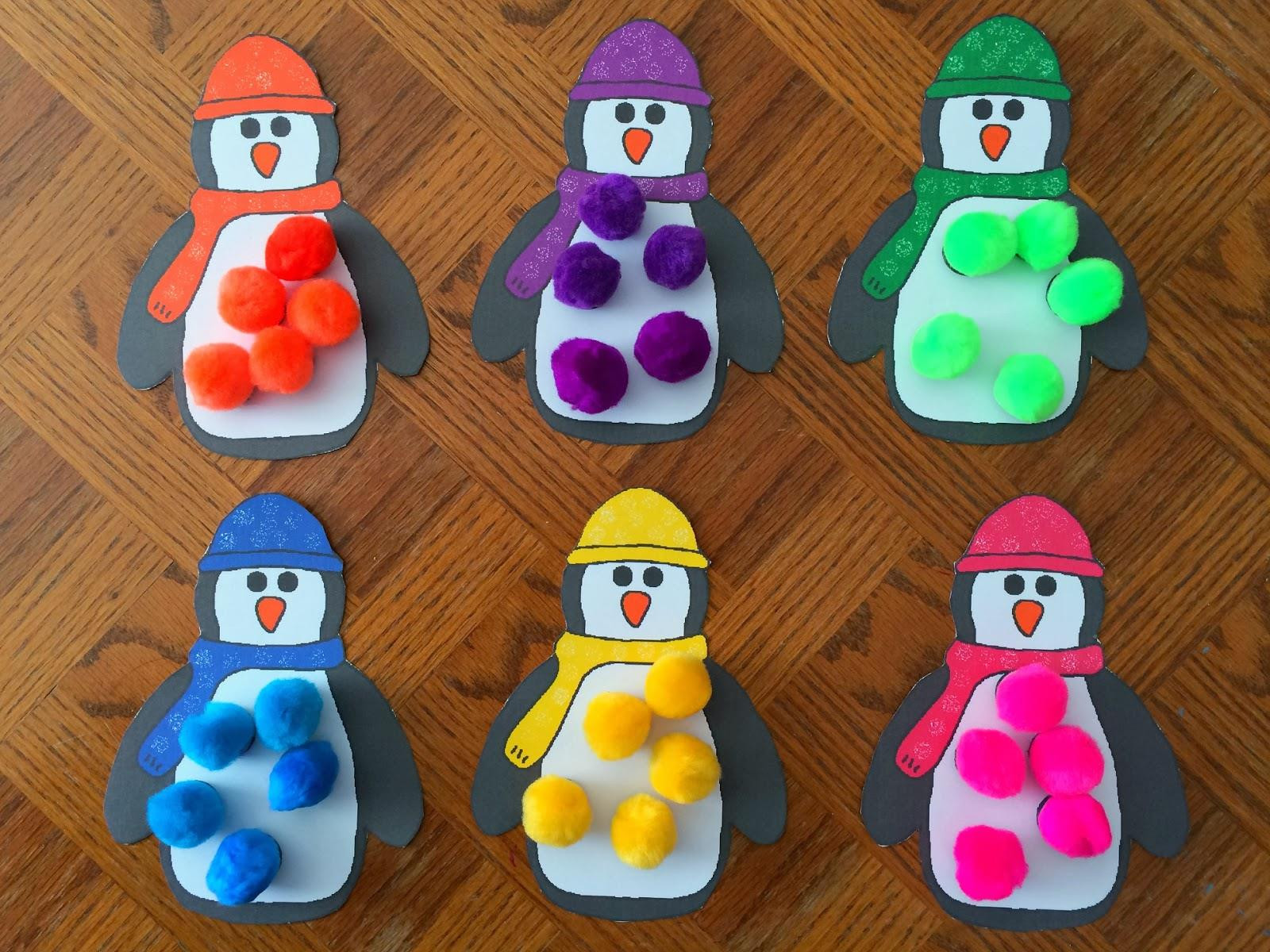 Best ideas about Winter Craft Ideas For Preschoolers . Save or Pin preschool crafts winter Now.
